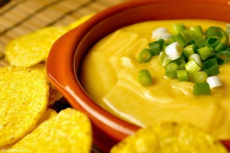 Nacho cheese dip 4