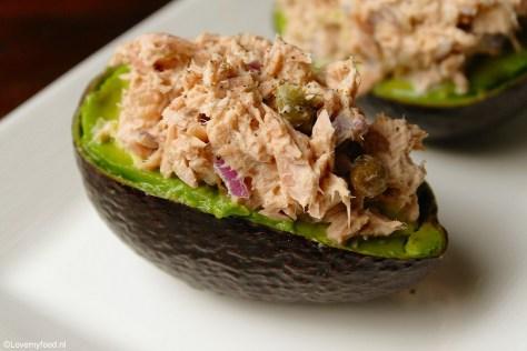 Gevulde avocado met tonijnsalade 1
