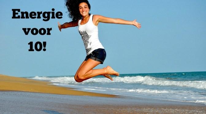 10 voedingstips voor meer energie!