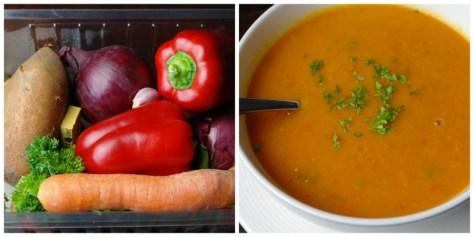 Collage soep