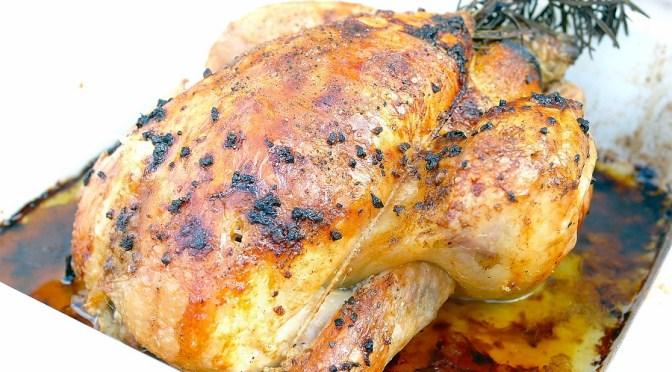 Hemelse gebraden kip