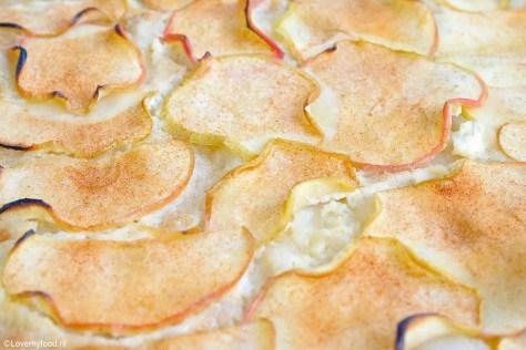 Flammkuchen met appel 1
