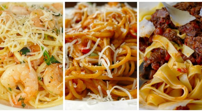 LMF's favorites: 5 populaire pastarecepten