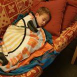 Lucas ziek