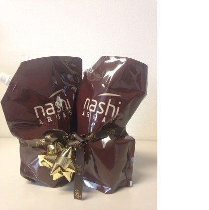Nashi Argan Shampoo und Conditioner 1L