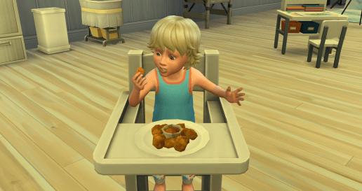 Chicken nuggets - yummy
