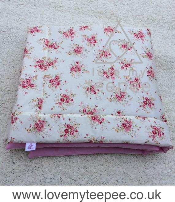 IMG 7363 - Floor Mat - Floral Rose Fabrics