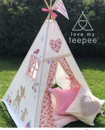 disney bambi and thumper teepee