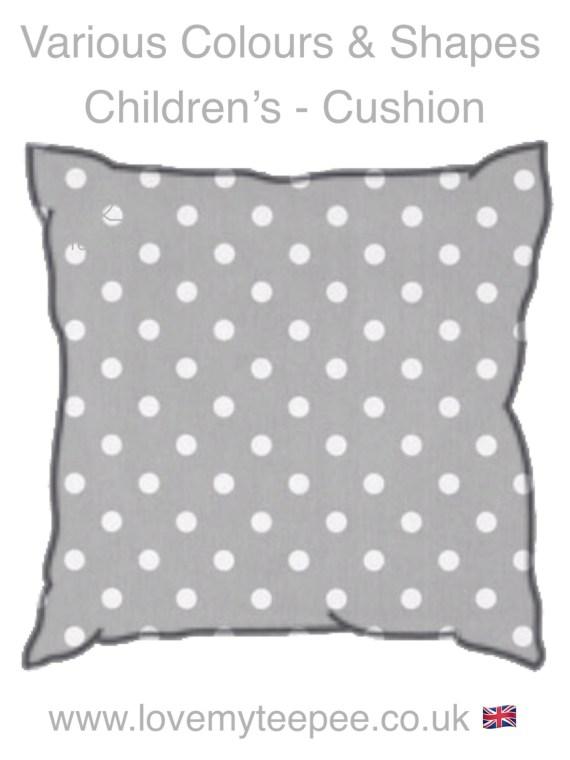 IMG 8658 - Polka Dot Cushions - Various Colours
