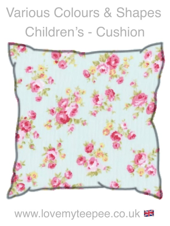 childrens floral cushions