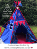 spiderman teepee set