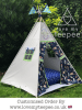 kids grey toy story teepee tent
