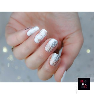 Stamping Master Gold and silver _ Bundle Monster S304 Festival6