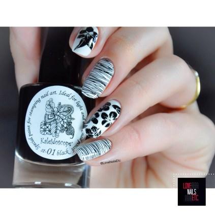 Stamping Master Black & White - ÜberChic Beauty 4-03