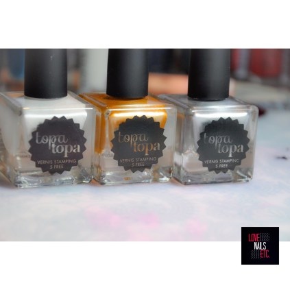 Topatopa Stamping Polishes