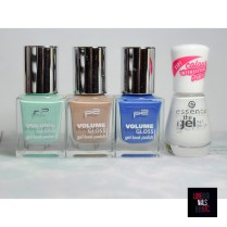 p2 volume gloss - 410 Flirty florist - 350 cat lover - 390 dream manager