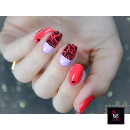 Nail Art Roses & romanticism