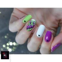 Stamping master - Purple & green