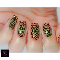 Nail Art illusion - Major Dijit 09 - Modern Nails Art2