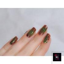 Nail Art illusion - Major Dijit 09 - Modern Nails Art3