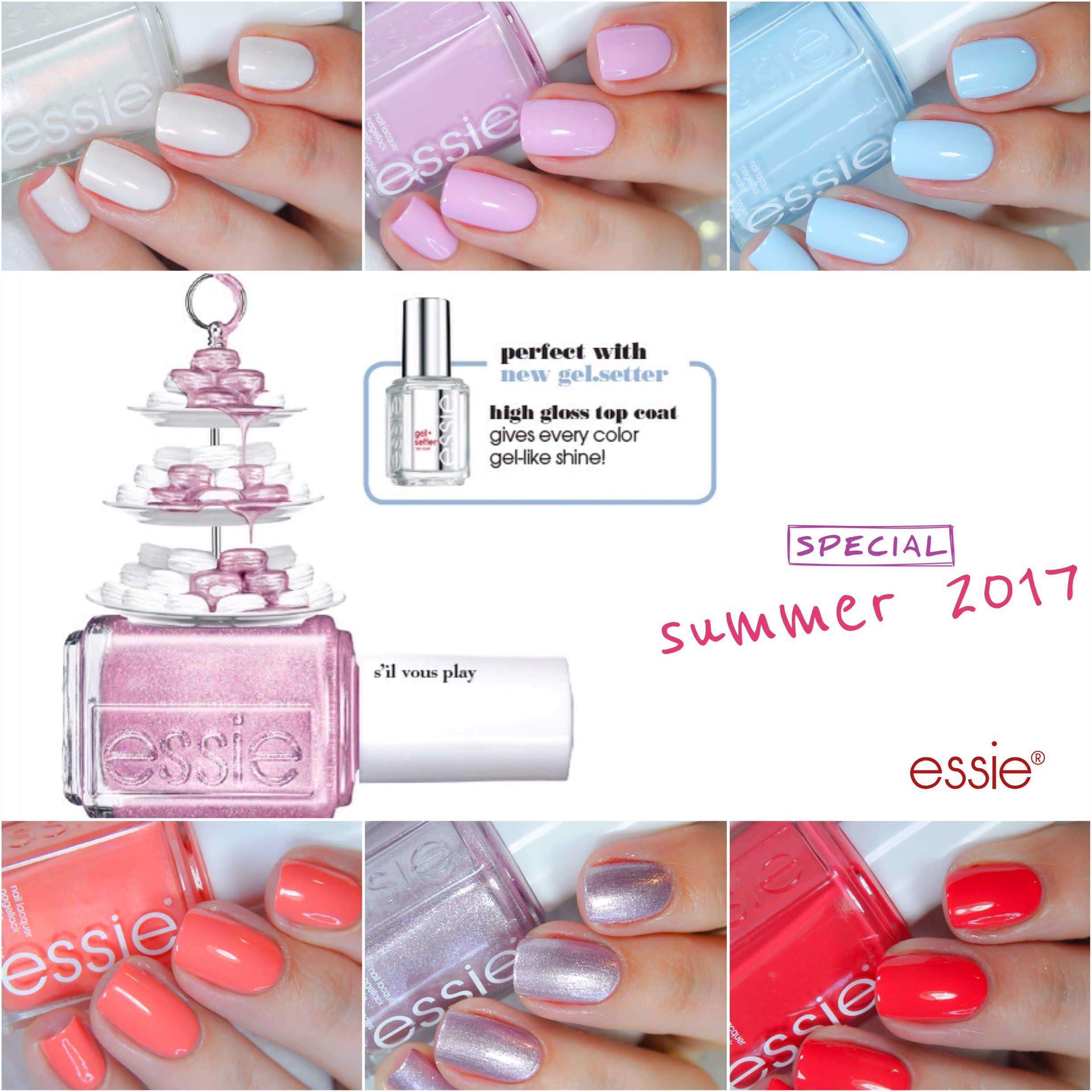 Essie Summer 2017 – S'il vous play