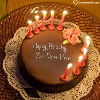 Happy Birthday Cake With Name Generator Online By Zeeshan A