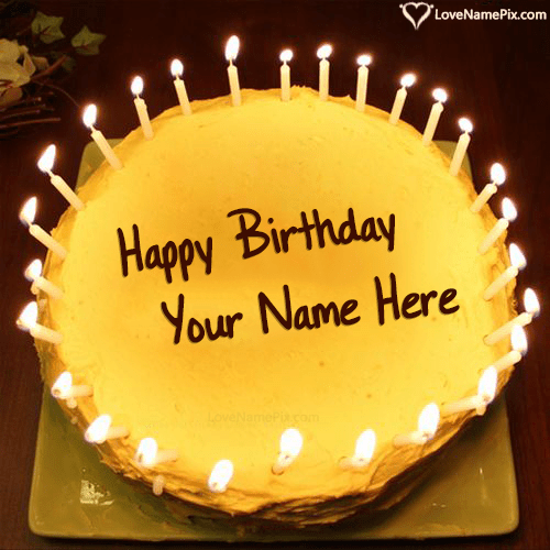 50 Great Happy Birthday Cake With Name Editor Online
