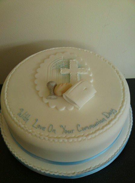 Delicious communion cakes
