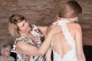 Robe de mariée à domicile - Babeth - nina sposi