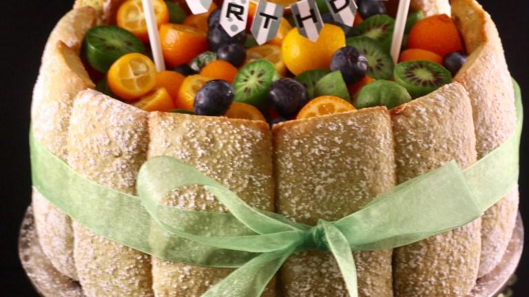 Ein Reistörtchen Biscuit de Reims zum 5. Bloggeburtstag von 'Meine Torteria'