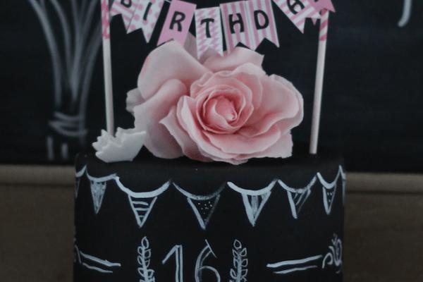 Sweet 16 – Chalkboard