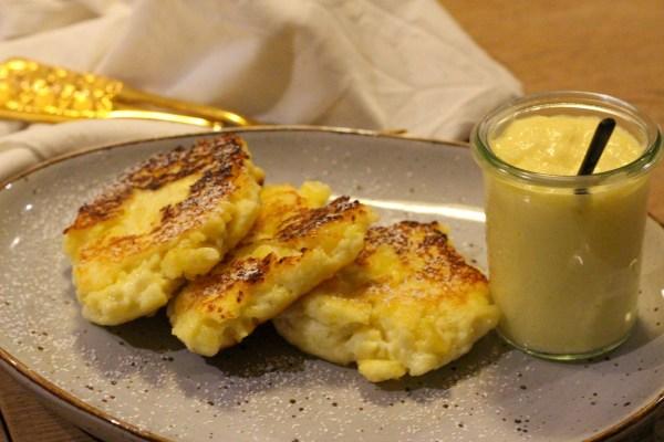 Omas beschwipste Quark-Kartoffel-Plätzchen