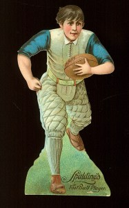 1800s Spalding Football Front