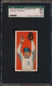 1909 T206 Lennox Front