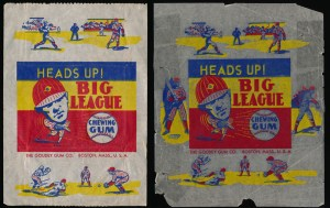 1938 Goudey Wrappers