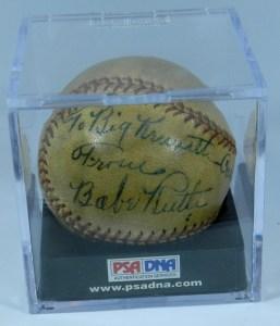Babe Ruth Ball 1