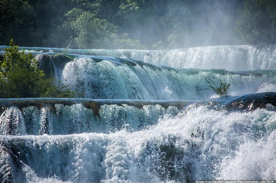 Один из самых красивых водопадов Европы