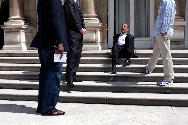 Барака Обама в фотограафиях