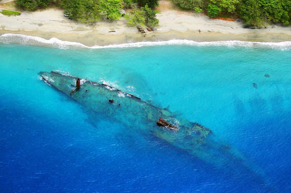 Японский военный транспортник Kinugawa Maru, Соломоновы Острова
