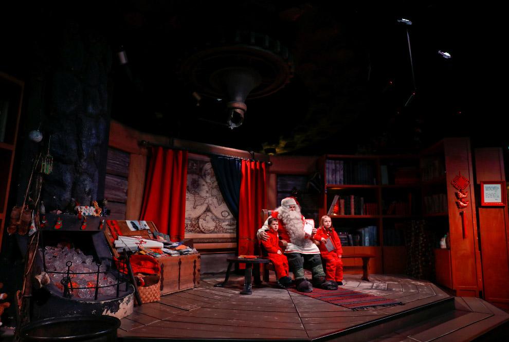 Санта-Клаус родился в Лапландии