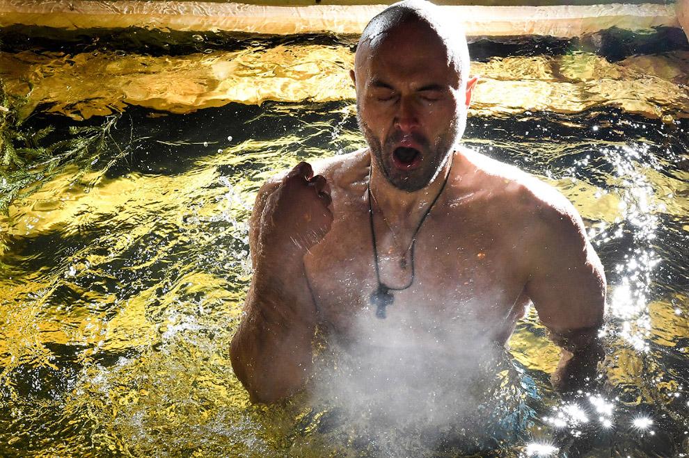 Крещенские купания 2017 в Москве