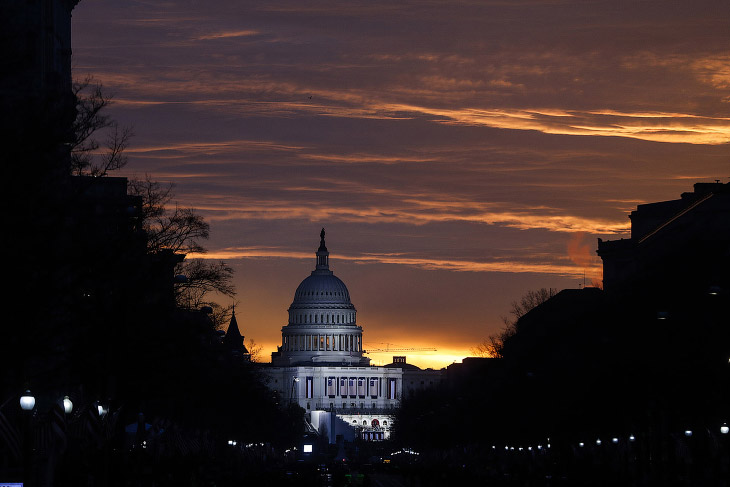 Рассвет над Капитолием. Вашингтон в предвкушении инаугурации