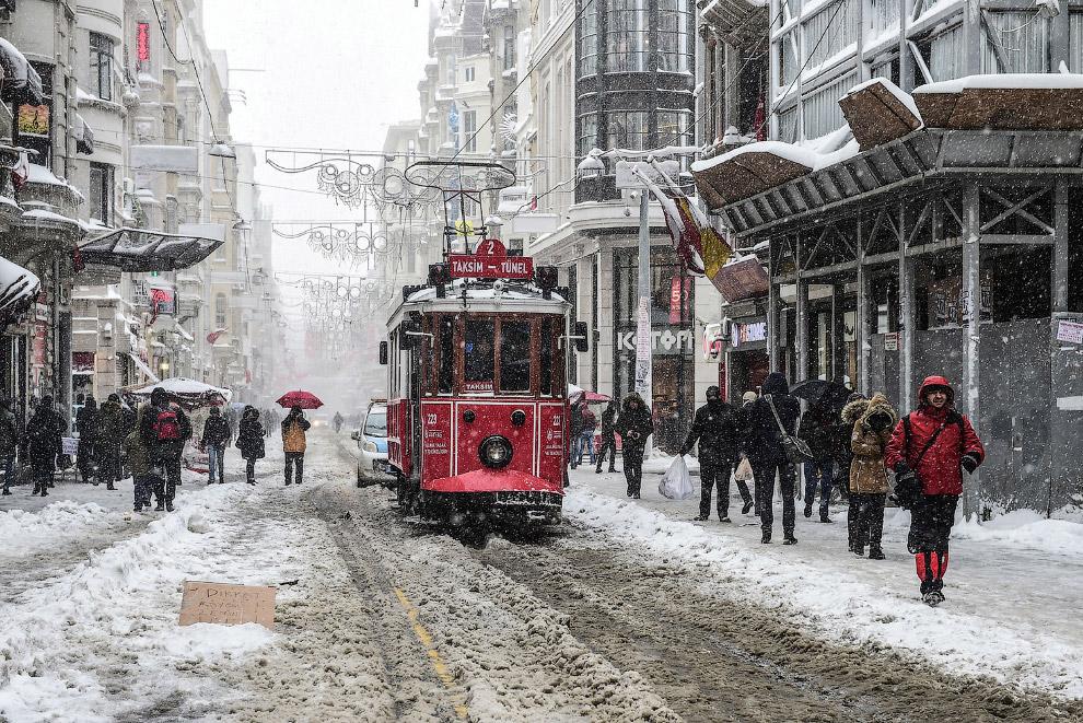 Такого в Стамбуле не видели много десятилетий