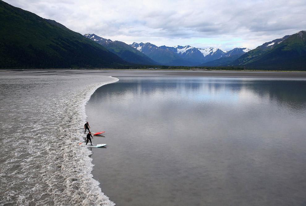 Аляскинские серферы