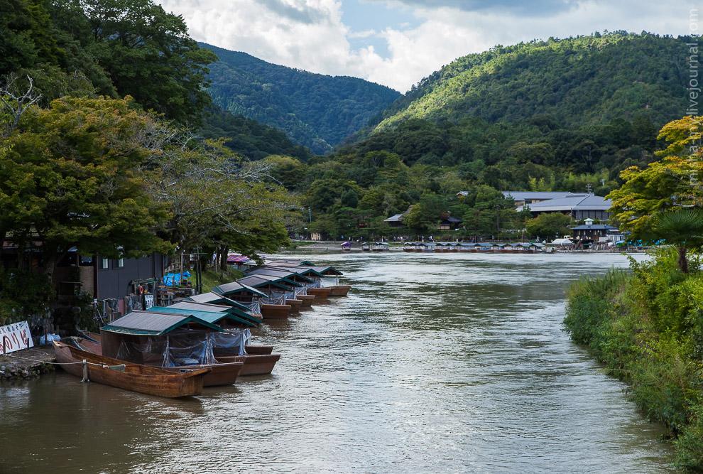 Лодки для прогулок по реке