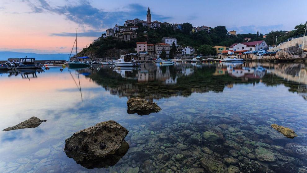 хорватский городок Врбник