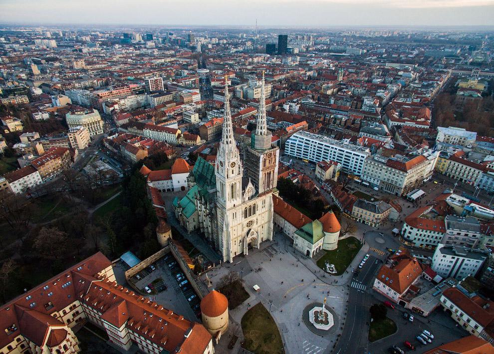 Загребский собор в Загребе