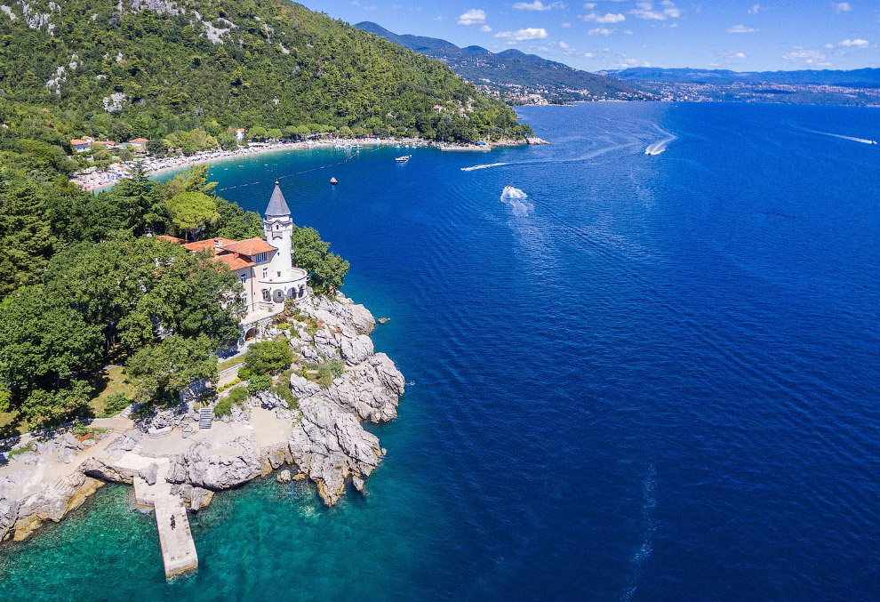 Вилла Castello на побережье