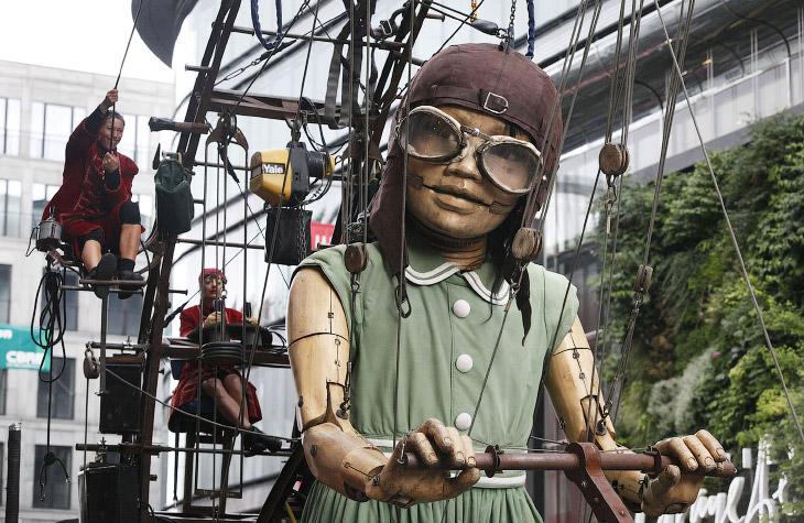 Театр Royal de Luxe и их механические марионетки