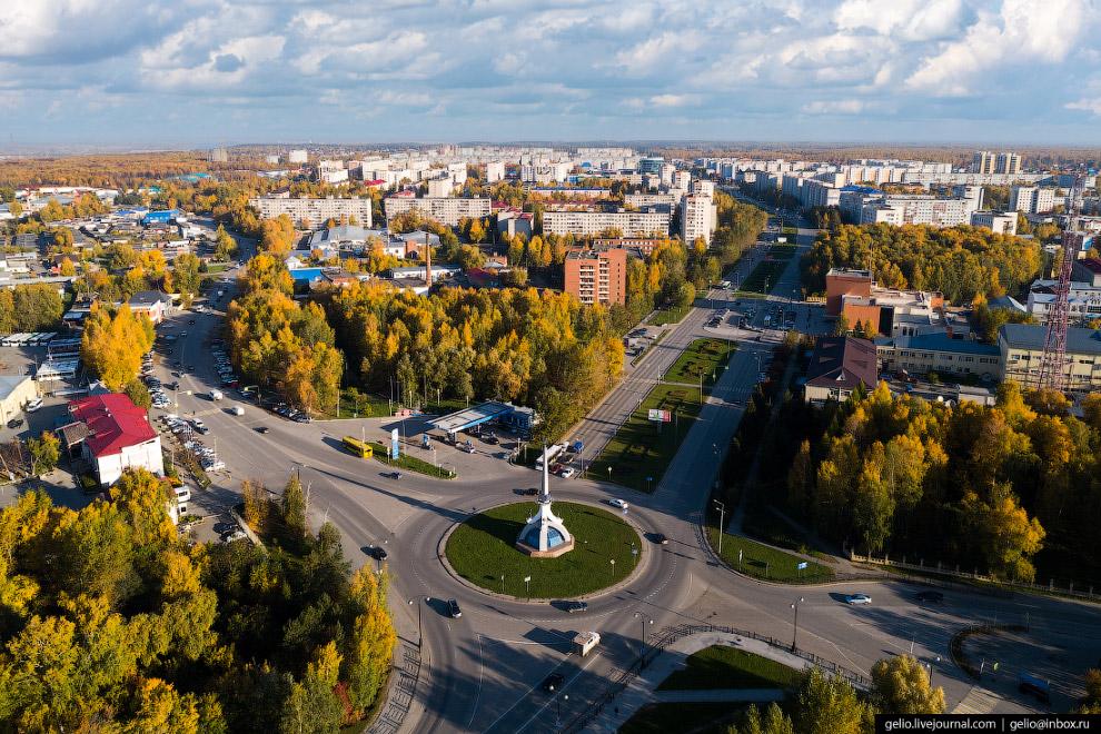 Стела «Тобольск — жемчужина Сибири»